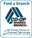 Find a Co-op Shared Branch Location