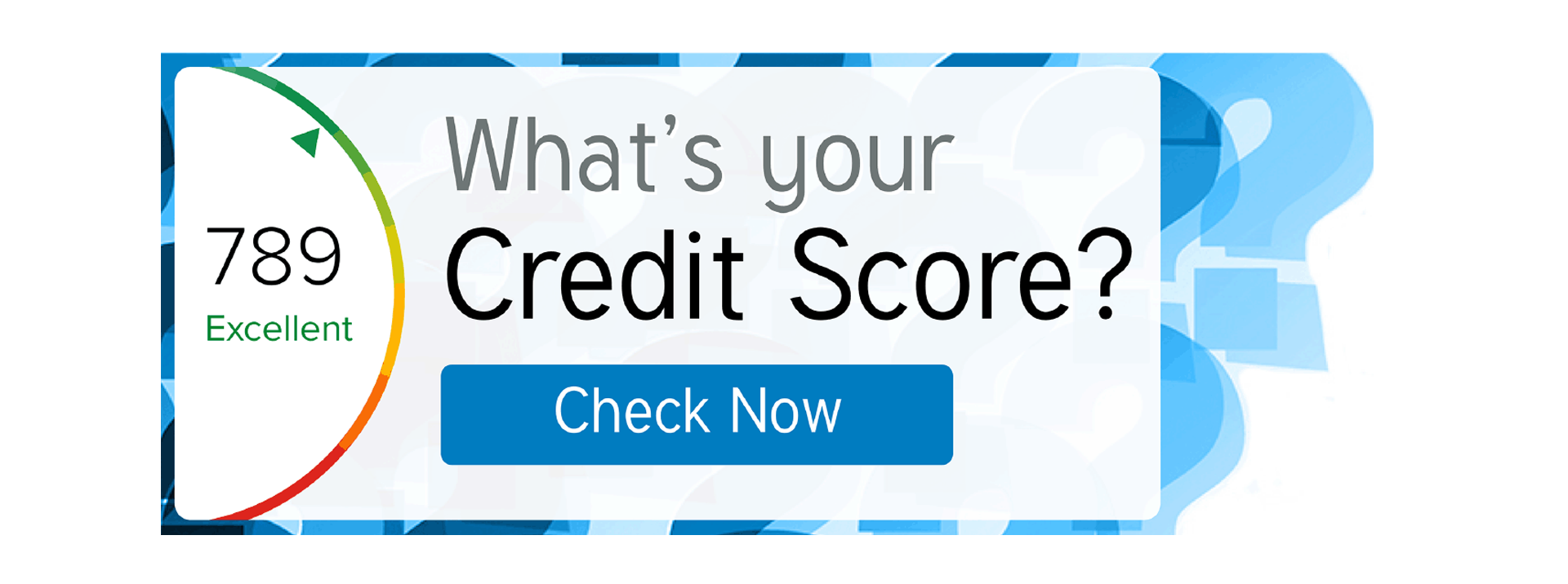 Check your credit score now